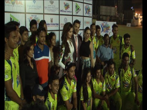 Urvashi Rautela, Mahaakshay Chakraborty, Evelyn Sharma At Mitsui Shoji T20 Cricket League 2015