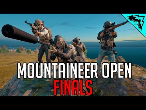 Mountaineer Open Finals - PlayerUnknown's Battlegrounds Open Tournament (видео)