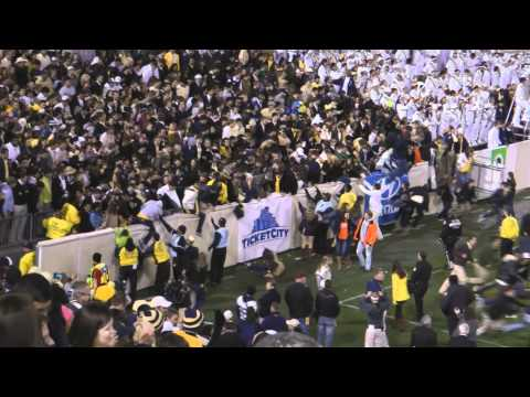 Georgia Tech vs Clemson 1080p Edited – Fans Swarm Field 2011