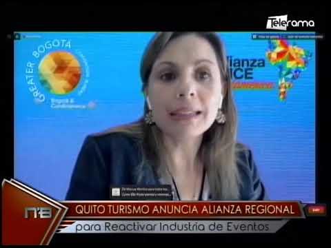 Quito Turismo anuncia alianza regional para reactivar industria de eventos