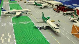 Video Lego City Airport - Brick Wonders - Huge LEGO Airport Layout MP3, 3GP, MP4, WEBM, AVI, FLV Juli 2018