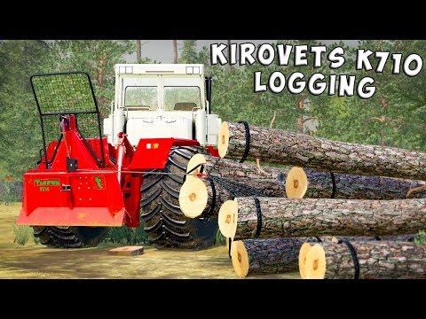 Kirovets K710 converted v1.0