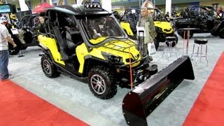 6. 2013 Can-am Commander XT 800 with Accessoires - Side by Side ATV - 2012 Salon National du Quad