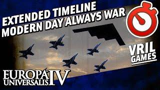 EU4 Extended Timeline | Modern Day | Always War Timelapse