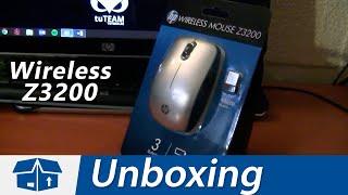 Unboxing del Mouse inalámbrico HP Z3200 con tecnología Bluetrack y sensor óptico de 1600 dpi. Enviado por Amazon.com con un precio de $9 dolares, incluye además del mouse, su receptor inalámbrico USB, 2 baterías AA, manual de usuario y garantía. ◉ Enlaces disponible en: http://www.DAIZcorp.com/Redes Sociales: ◢ Twitter @UECenter: http://www.twitter.com/UECenter◢ Página de Facebook:http://www.facebook.com/UleadEstudioCenter◢ Página web: http://www.DAIZcorp.com___UECenter de DAIZcorp.