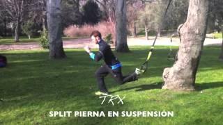 Split pierna en suspensión
