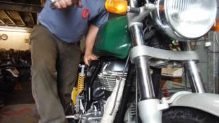 9. Royal Enfield 535 Continental GT tuned by Performance Classics.