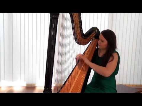 Harpist Rhianwen plays La Source