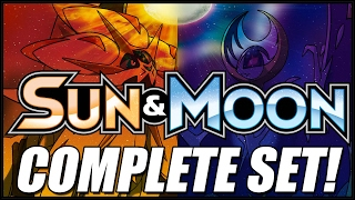 COMPLETE COLLECTION OF SUN AND MOON BASE SET POKEMON CARDS!! by The Pokémon Evolutionaries