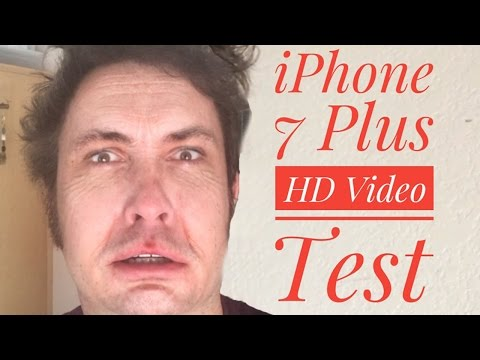 iPhone 7 HD Video Test (Front-Facing Camera 7 Plus vs. 6s Plus)