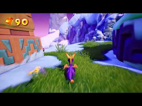 Frozen Altars Gameplay de Spyro Reignited Trilogy