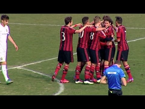 Milan-Verona 2-2 Highlights | AC Milan Youth Official