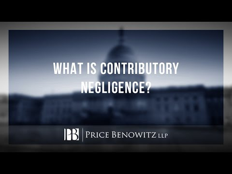 What is Contributory Negligence? Personal Injury Lawyer Peter Biberstein