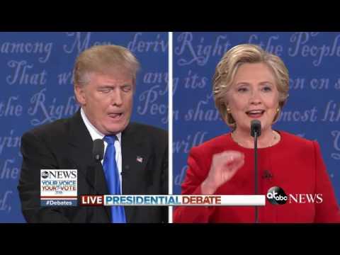 Presidential Debate Highlights | Trump, Clinton Defend Tax Plans