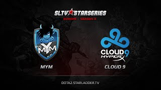 Cloud9 vs MYM, game 1