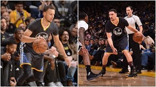 Stephen Curry 27 Pts & Klay Thompson 24 Pts to Defeat Brooklyn | 02.25.17 by NBA