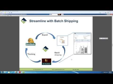 Extend QuickBooks to Streamline eCommerce and UPS WorldShip