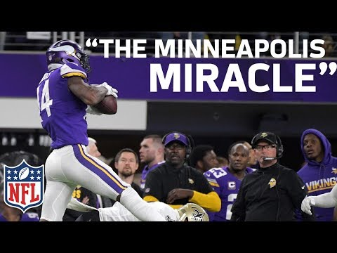 Video: Home Radio Broadcasters Freak Out on Stefon Diggs Walk-Off Minneapolis Miracle TD! | NFL Highlights