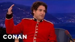 Adam Pally's Wife Is A Great Drinking Buddy - CONAN on TBS