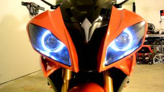 10. 2009 Yamaha R6 HID Halos & CF Parts (Updated) SOLD!!!