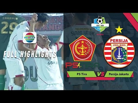 PS Tira (0) vs (5) Persija Jakarta - Full Highlight | Go-Jek Liga 1 Bersama BukaLapak