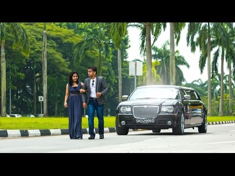 Love in Singapore-Renjith+Ginju Post wedding shoot