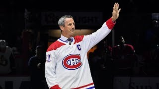 Canadiens honor Guy Carbonneau with ceremonial puck drop by NHL