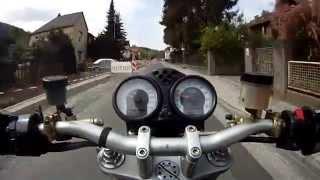 5. Ducati Monster S4R vs. Suzuki GSX-R 1000, Termignoni kit sound