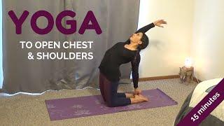 Video 15 Minute Heart Opening Yoga Sequence for Reducing Stress | Alex Howlett MP3, 3GP, MP4, WEBM, AVI, FLV Maret 2018