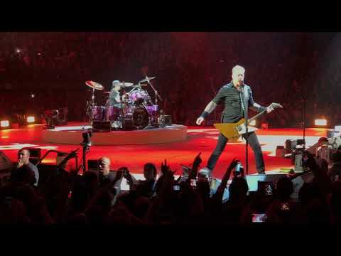 Metallica - For Whom The Bell Tolls [Live] - 11.01.2017 - Antwerps Sportpaleis - Belgium, Antwerp (видео)