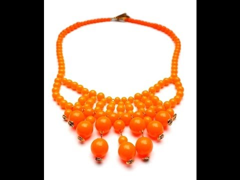 PandaHall Jewelry Making Tutorial Video--How to Make a Beautiful Statement Necklace in an Easy Way