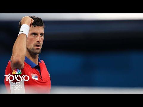 Novak Djokovic cruises into Tokyo Olympics quarterfinals in straight sets | NBC Sports