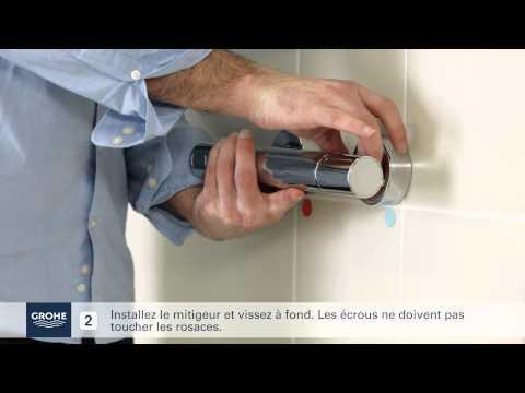 Comment Installer facilement un mitigeur Thermostatique Douche ?