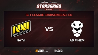 Natus Vincere vs AD Finem, Game 1, SL i-League StarSeries Season 3, EU
