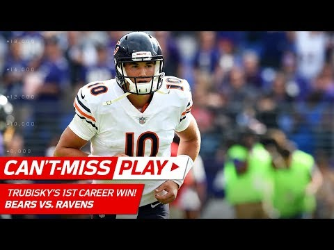 Video: Mitchell Trubisky's 1st Game-Winning TD Drive! | Can't-Miss Play | NFL Wk 6 Highlights