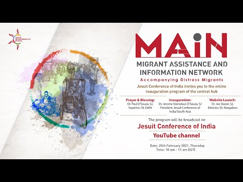 Inauguration of Migrant Assistance and Information Network (MAIN)