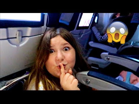SLIME, HIDE & SEEK AND DARES ON THE PLANE! ✈️😱~ Funny & Emotional