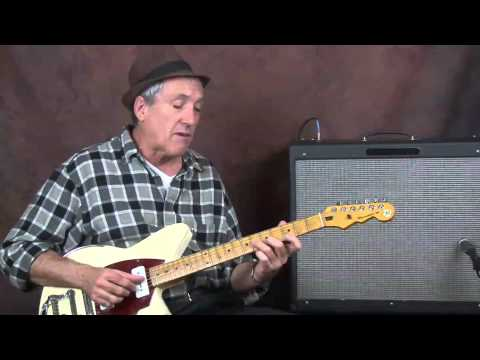 Learn Rockabilly lead soloing jam lesson on Reverend electric guitar licks riffs tips and tricks