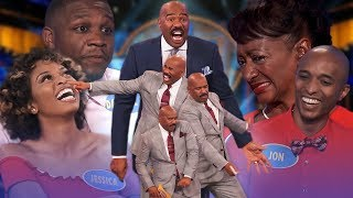 Video Top 5 moments from January 2019! Steve Harvey is on fire! | Family Feud MP3, 3GP, MP4, WEBM, AVI, FLV Maret 2019