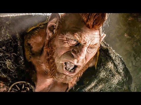 The Giant Fleshlumpeater! Scene - THE BFG (2016) Movie Clip