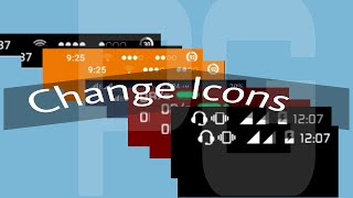 How Change Icons of Your Android {Status bar icons }