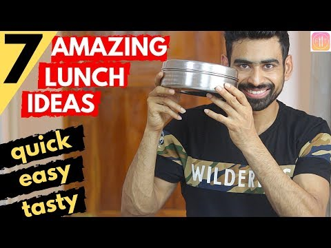7 Quick & Healthy Lunch Box Ideas for the Week (Vegetarian)