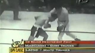 Rocky Marciano Vs Rex Layne