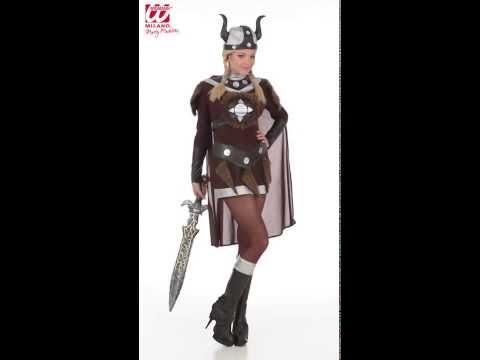 Costume Viking Femme-v29228