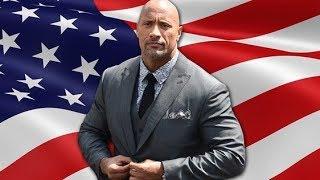"""Dwayne Johnson mejor conocido como """"La Roca"""" podria postularse para presidente de los Estados Unidos en el 2020. Su nombre comenzo a surgir en los medios como un potencial presidente durante la divisiva eleccion del 2016."""