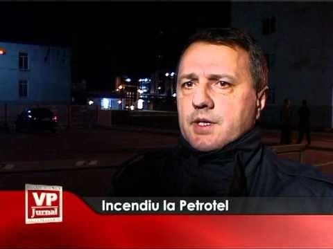 Incendiu la Petrotel
