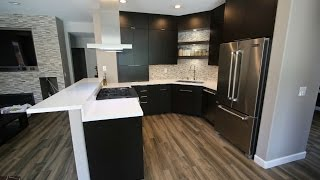 Modern Style Design Build Kitchen Remodel with Sophia Line Cabinets in Chino Hills