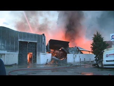 Θεσσαλονίκη: Υπό έλεγχο ετέθη η μεγάλη πυρκαγιά στη ΒΙΠΕ Σίνδου