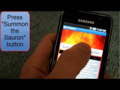 Video of Eye of Sauron