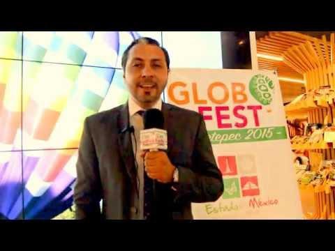 GLOBO FEST METEPEC 2015 CONFERENCIA Prensa Félix RÍos Dir. Gral.
